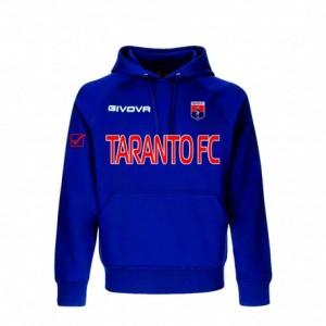 FELPA CON CAPPUCCIO BLU 2019/2020 TARANTO FC 1927