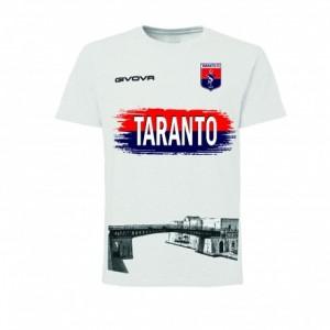 T-SHIRT BIANCA PONTE GIREVOLE 2019/2020 TARANTO FC