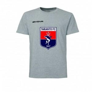 T-SHIRT 3D LOGO GRIGIA 2019/2020 TARANTO FC 1927