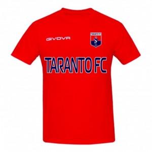 T-SHIRT ROSSA 2019/2020 TARANTO FC 1927