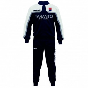 TUTA ALLENAMENTO STAFF ARGENTO BLU 2019/2020 TARAN