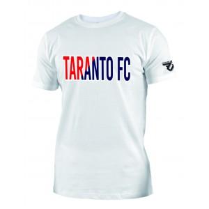 T-SHIRT COTONE SCRITTA TARANTO FC