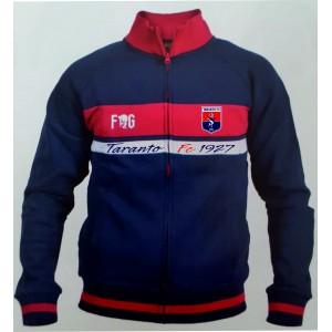 FELPA FULLZIP DS4 TARANTO FC 1927